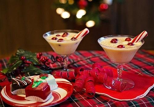 クリスマスだけの飲み物、エッグノッグ。