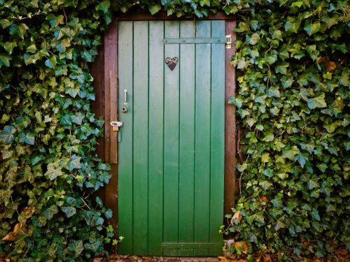 心惹かれるドア。中には何が?
