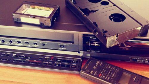 ビデオカセットの録画システム