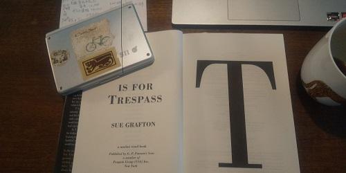 T is for Trespass の発行所名。