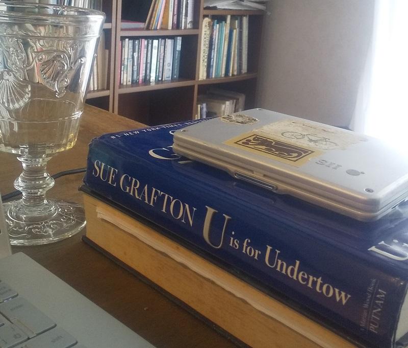 3冊目の本、U is for Undertow。