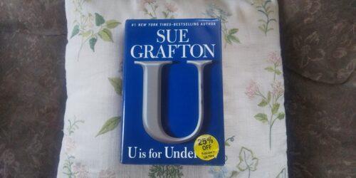U is for Undertow の表紙。